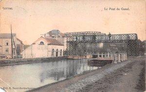 Le Pont du Ganal Belgium 1911