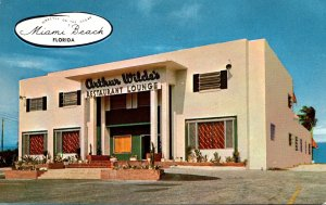 Florida Miami Beach Arthur Wilde's Oceanfront Restaurant & Lounge