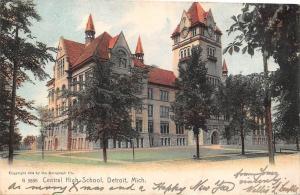 Mich. Detroit, Central High School 1908