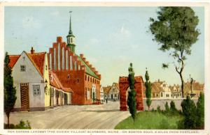 ME - Scarboro. Der Danske Landsby (The Danish Village)