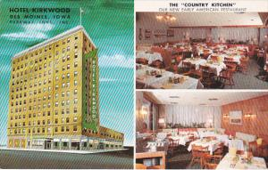 Hotel Kirkwood And Country Kitchen Restaurant Des Moines Iowa