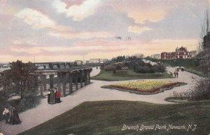 NEWARK, New Jersey, PU-1909; Branch Broad Park