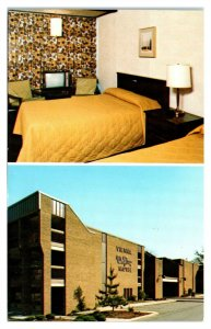 Vienna Wolf Trap Motel Interior/Exterior, Vienna, VA Postcard *6L(2)21