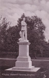RUGBY, Warwickshire, England, 1900-1910's; Statue Of Thomas Hughes