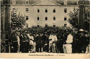 CPA AK Lons le Saunier- La Caserne FRANCE- (1044298)