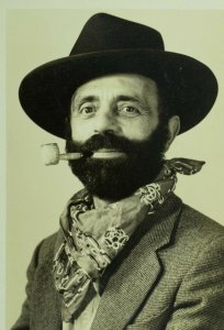 RPPC July 4th, 1936 Carl Bartell as General Grant Vintage Postcard P102