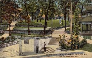 EL DORADO SPRINGS, Missouri, PU-1917; Spring Park