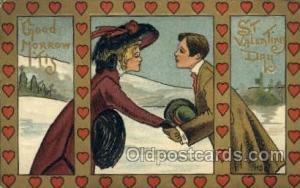 Artist HBG Valentines Day Postcard Post Cards