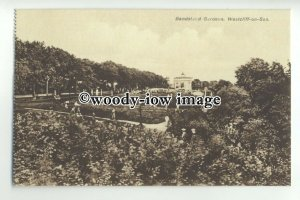 tp9460 - Essex - The Busy Bandstand Gardens, at Westcliff-on-Sea - Postcard