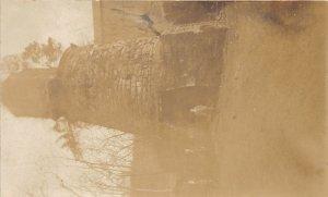 F82/ Occupational RPPC Postcard c1910 Brick Iron Furnace Workers 12