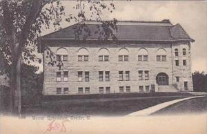 Ohio Oberlin Warner Gymnasium