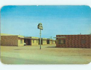 Unused 1950's ROYAL LODGE MOTEL Lamesa Texas TX u0558