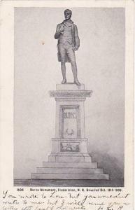 Burns Monument , FREDERICTON , New Brunswick , Canada , 1906