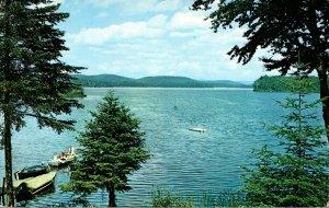 New York Adirondacks Sacandaga Lake From Road's End