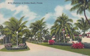 Florida Golden Beach Parkway At Golden Beach 1955