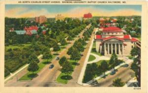 North Charles Street Avenue, University Baptist Church, B...