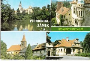 Czech Republic, PRUHONICE ZAMEK, Botanicky Ustav av cr, 1995 used Postcard