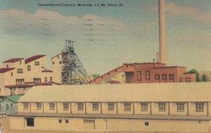 MT.OLIVE, Consolidated Coal Co. Mine No.15, Illinois, 30-40s