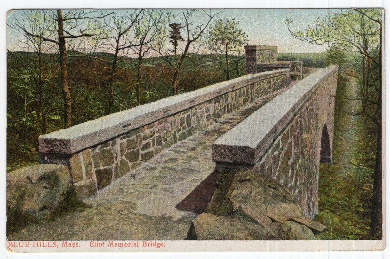 Blue Hills, Mass, Eliot Memorial Bridge