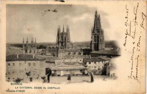 CPA BURGOS La Catedral desde el Castillo SPAIN (674344)