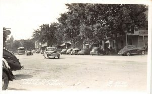 LP47 Selmer Tennessee Postcard RPPC Street Scene