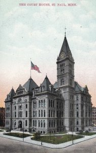 ST. PAUL, Minnesota, 1900-1910's; The Court House