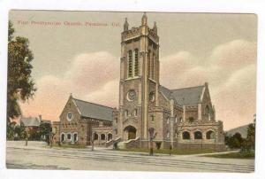 Exterior, Frst Presbyterian Church, Pasadena,CA, 00-10s California