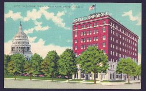 Hotel Commodore Union Station Plaza DC unused c1930's