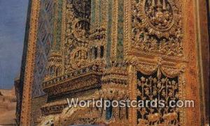 Bangkok Thailand Emerald Buddha Temple  Emerald Buddha Temple