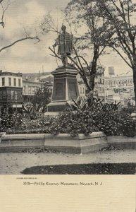 NEWARK , New Jersey, 1901-07 ; Phillip Kearney Monument
