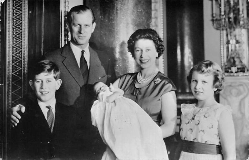 Royal Family, Queen Elizabeth II, Duke Prince Philip, Charles, Anne Andrew