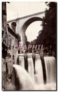 Old Postcard Falls Bellegarde Valserine