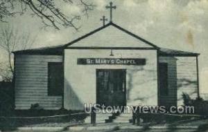 St Marys Chapel  Fort Hancock NJ 1943