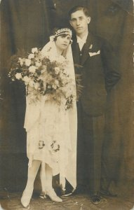 Carte postale Young married couple 17 Martie 1928