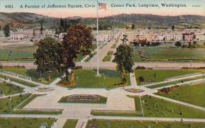 Washington Longview A Portion Of Jefferson Square Civic Center Park