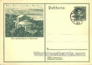 Bayreuth Germany, Deutschland Postcard Das Seftfpielhaus Bayreuth Das Seftfpi...