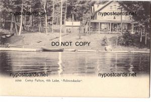 Camp Fulton, 4th Lake
