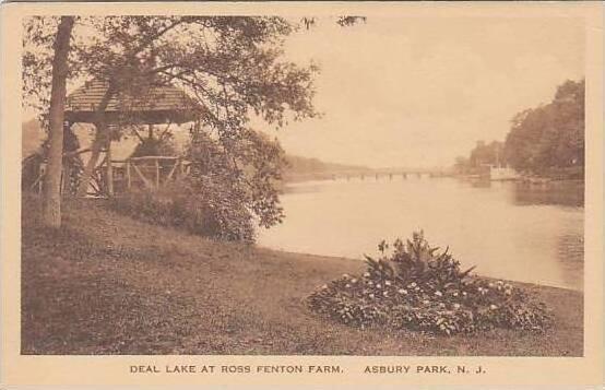 New Jersey Asbury Park Deal Lake At Ross Fenton Park