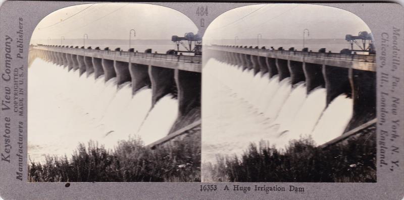 SV: Irrigation Dam , Southern Alberta , Canada , 00-10s