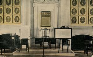 PA - Philadelphia. Independence Hall, Interior