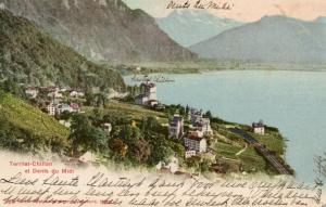 Switzerland Territet Chillon et Dents du Midi 01.52
