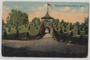 Mount at Belle Isle Detroit MI