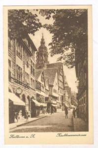 Heilbronna. N. , Germany, 1910s Kirchbrunnenstrasse