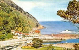 Lynmouth from the Tors Vlanetine's Series Postcard