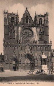 La Cathedral Saint Jean,Lyon,France BIN