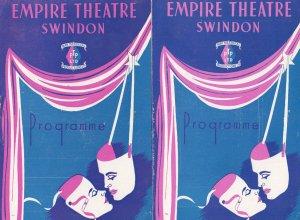 Swindon Wiltshire 2x Opera Theatre Programme s of Faust Cavalleria Rusticana