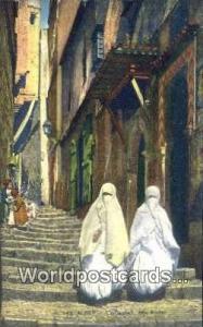 Alger Algeria, Africa, Las Casbah Rue Kleber  Las Casbah Rue Kleber
