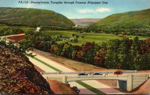 Pennsylvania Turnpike Through Aliquippa Gap Red Man's Gateway To The Wes...