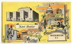 Postcard Hotel Statler Washington D.C. Standard View Card