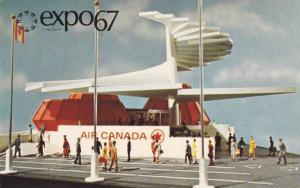 Air Canada Pavilion,  Expo67,  Montreal,  Quebec,  Canada,   40-60s